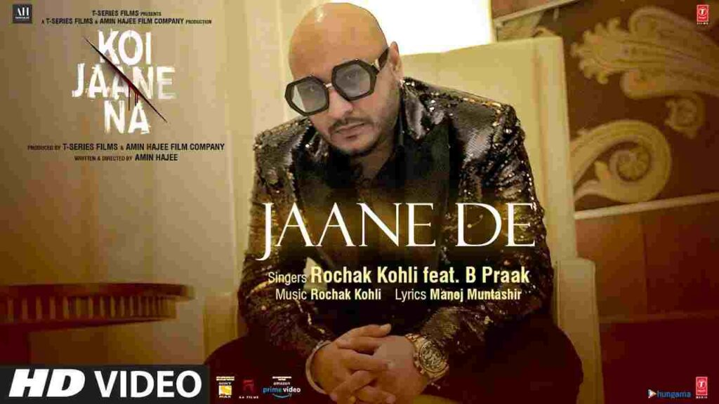 Jaane De Lyrics