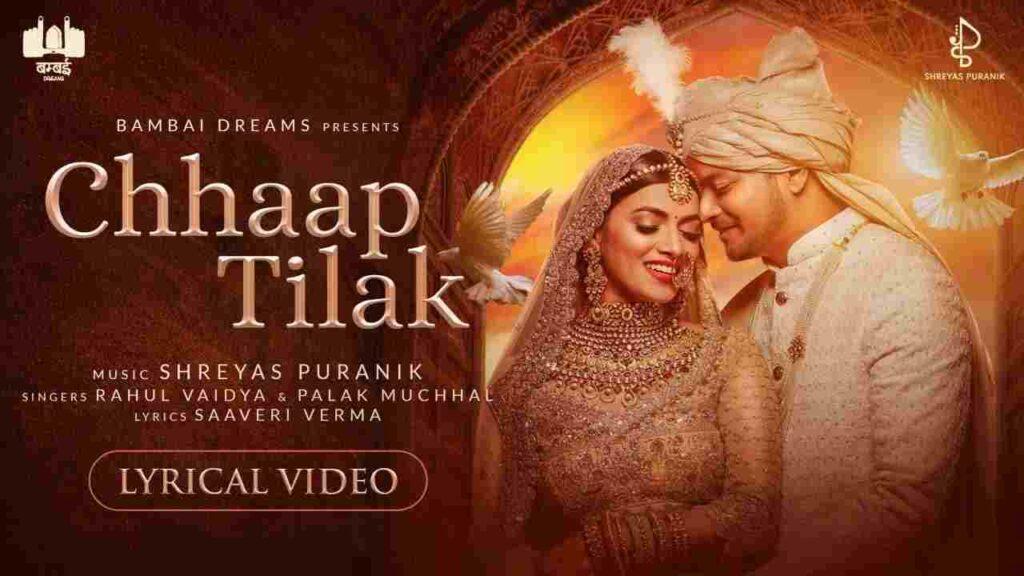 Chhaap Tilak Lyrics