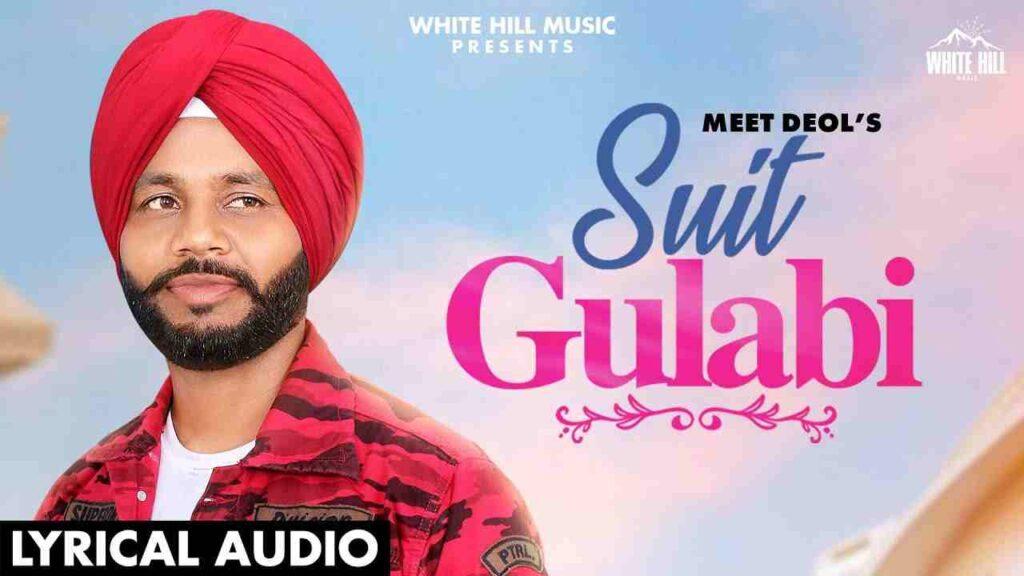 Suit Gulabi Lyrics